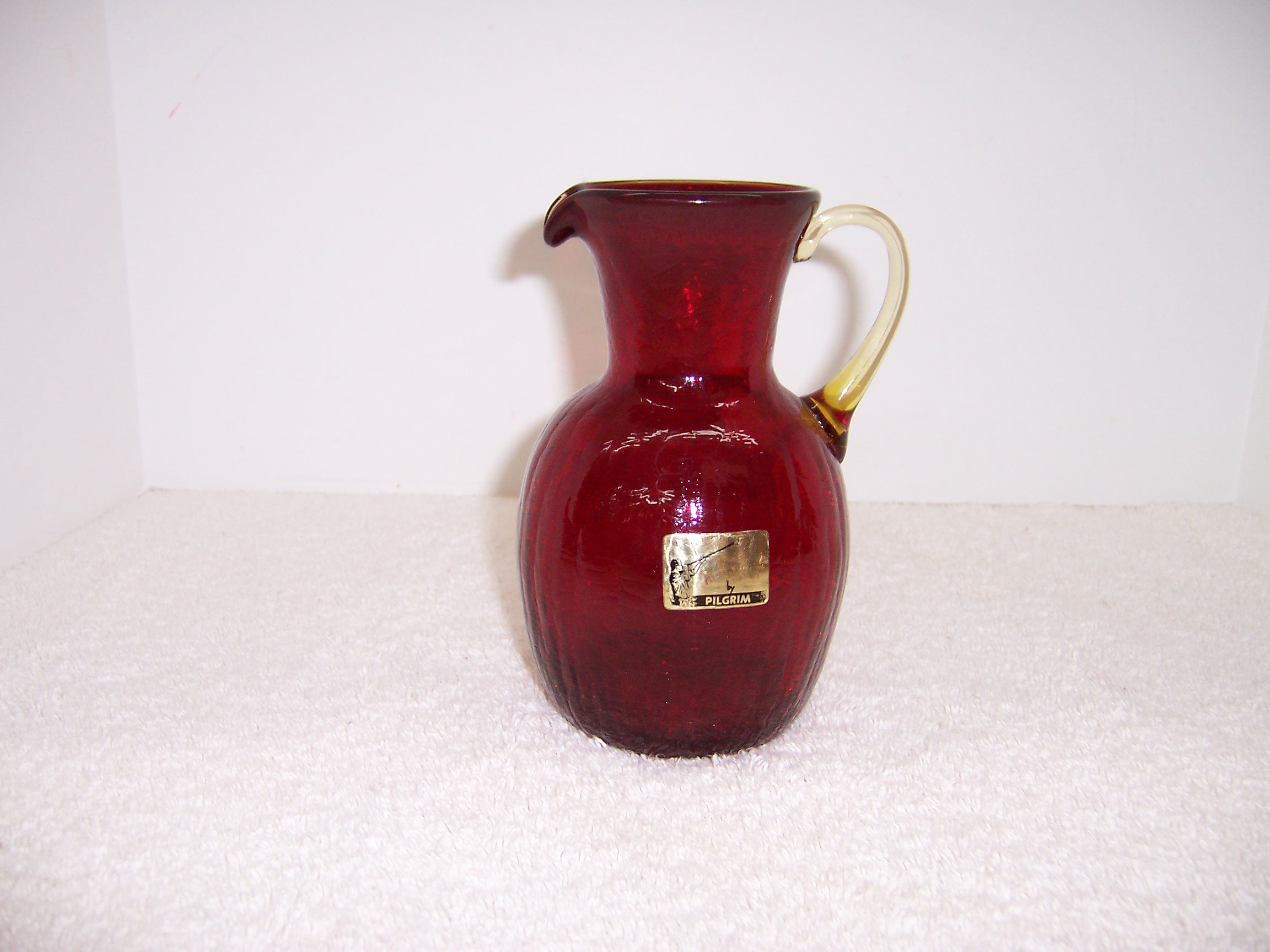 pilgrim cranberry glass vase of ruby red pilgrim glass pitcher creamer triple a resale with ruby red pilgrim glass pitcher creamer