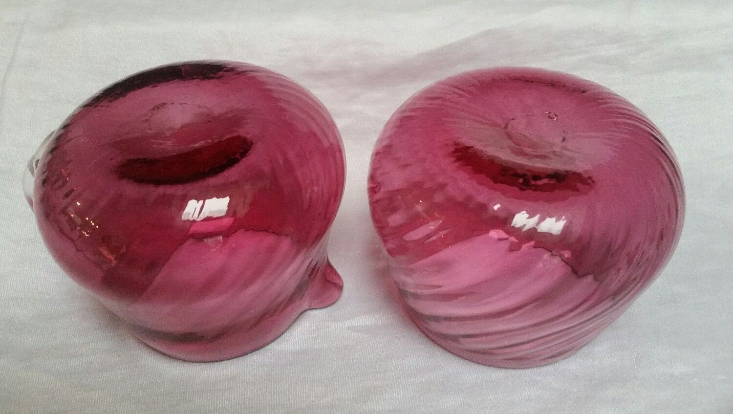 pilgrim cranberry glass vase of vintage pilgrim glass cranberry optic swirl hand blown creamer and throughout 5 of 5 see more