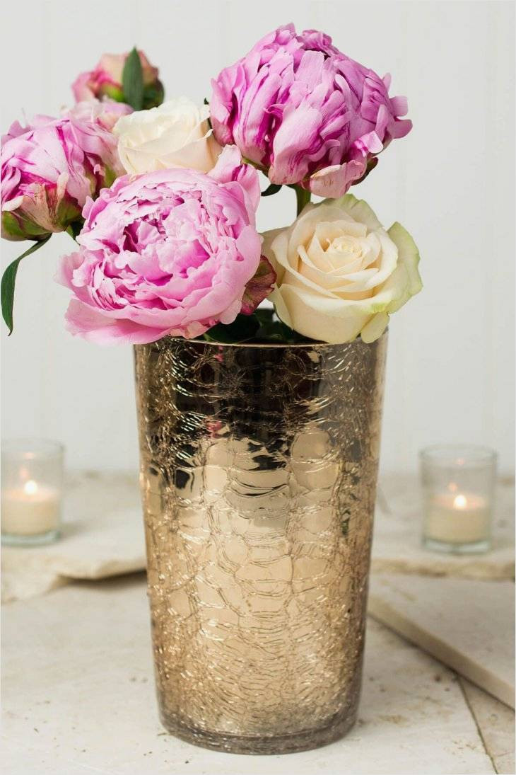 pillar candle vases bulk of famous design on tall glass vases bulk for use beautiful home intended for save crafts it features a golden champagne exterior and a silver coating on the inside the