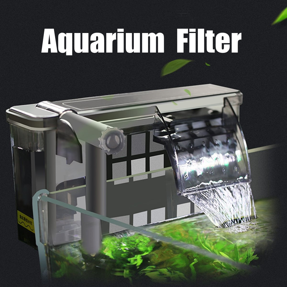Plants for Betta Vase Of Aqua Plant Glass Nursery Cup Water Grass Aquarium Plants Pots Fish with Aquarium External Hanging Filter Fish Tank Water Oxygen Pump Skimmer Filters Accessories 500 750 L