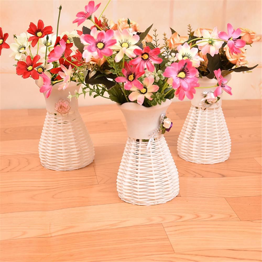 plastic bag flower vases of home decor nice rattan vase basket flowers meters orchid artificial regarding aeproduct getsubject