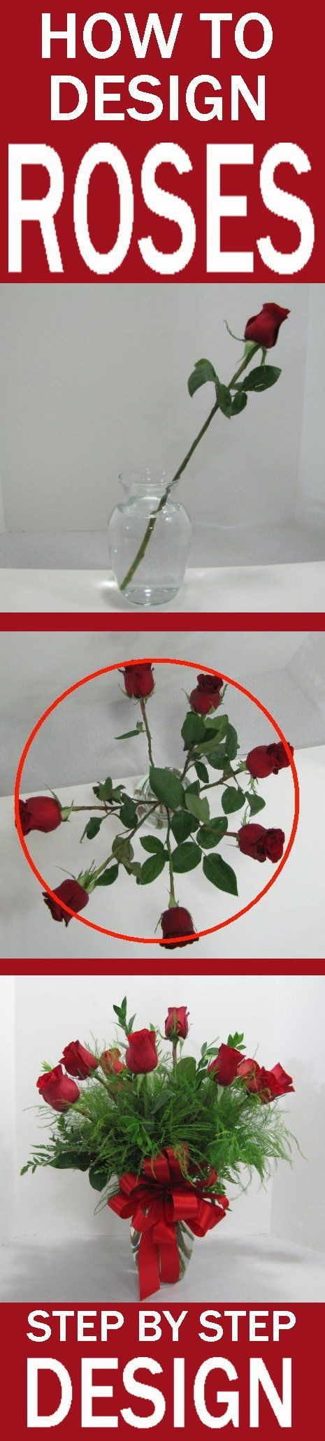 plastic cemetery vases with stakes 10 of 45 best wedding florals images on pinterest flower arrangement pertaining to how to design a rose vase easy flower tutorials learn how to create beautiful flower