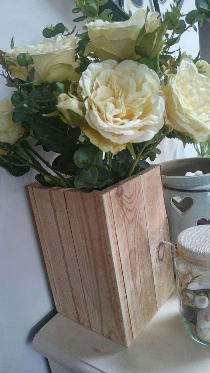 plastic flower vase inserts of 35 best vases for sale images on pinterest inside rustic wooden rectangle vase a20 this solid handmade vase has a plastic insert to hold fresh flowers as well as artificial it is a wonderful wedding or