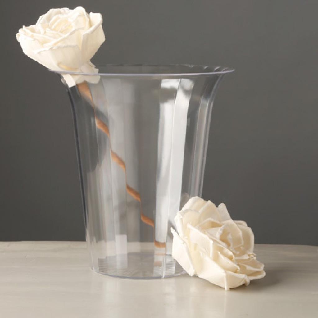 plastic vase filler of pedestal bowl vase image 8682h vases plastic pedestal vase glass throughout 8682h vases plastic pedestal vase glass bowl goldi 0d gold floral