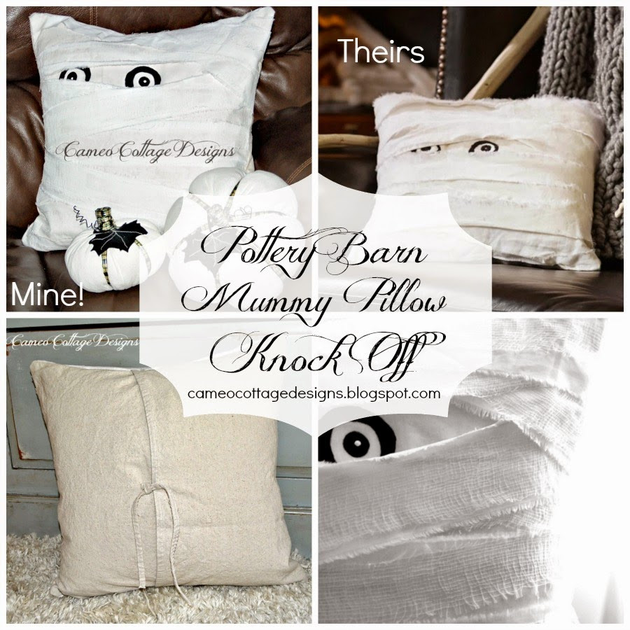 pottery barn clear glass vases of cameo cottage designs my pottery barn mummy decorative pillow knock off for my pottery barn knock off and diy