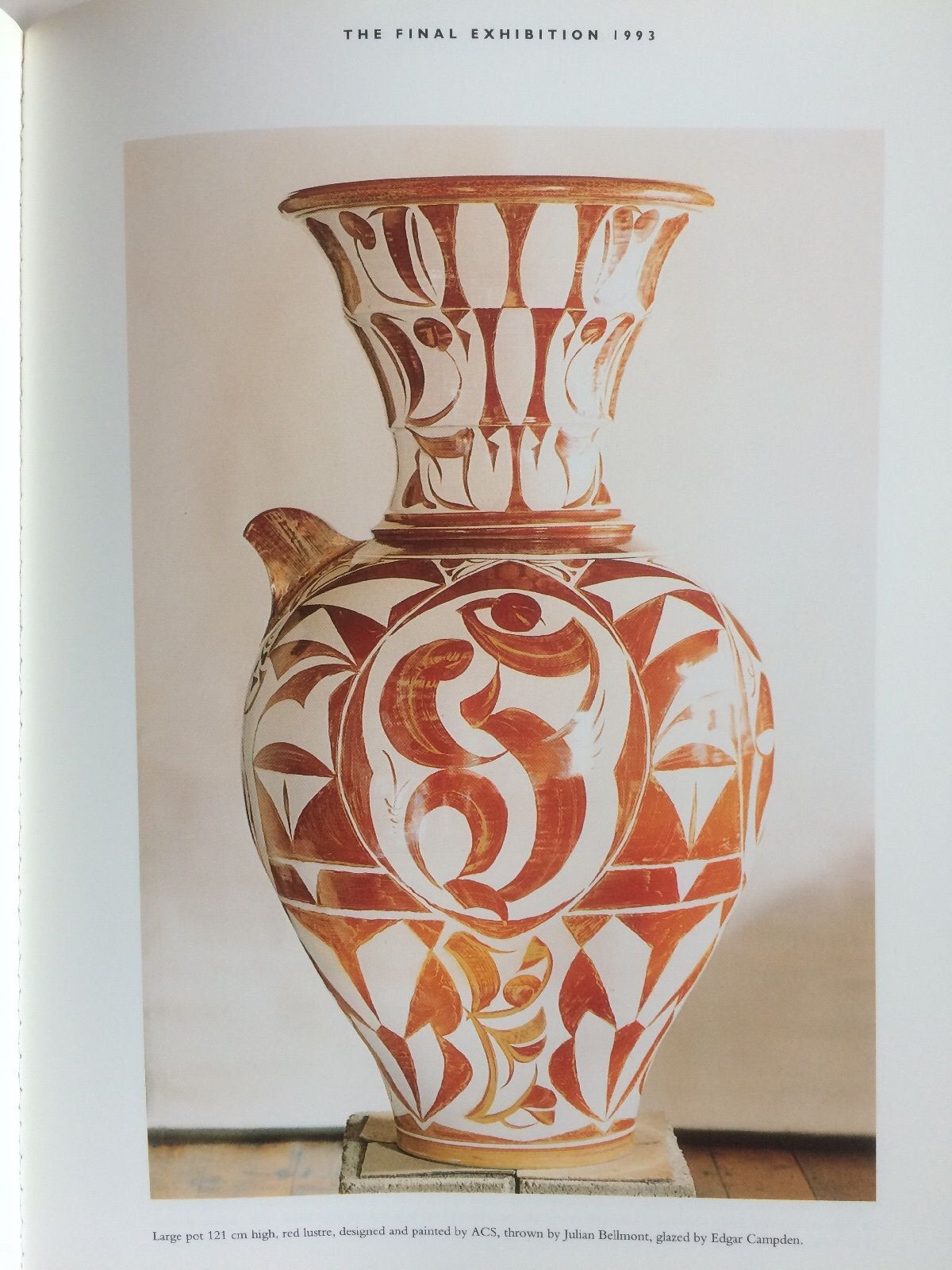 Pottery Craft Usa Vase Of A Caiger Smith Aldermaston Pottery 1955 1993 Catalogue and Survey Throughout A Caiger Smith Aldermaston Pottery 1955 1993 Catalogue and Survey 1993 1st Ed Ebay