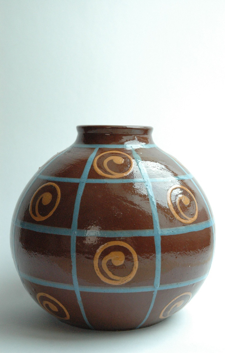 Pottery Craft Usa Vase Of Art Deco Pottery Vase by Jean Garillon soufflenheim Collectors Weekly for 1x2ikzyok4vdjfvl8zn2ww