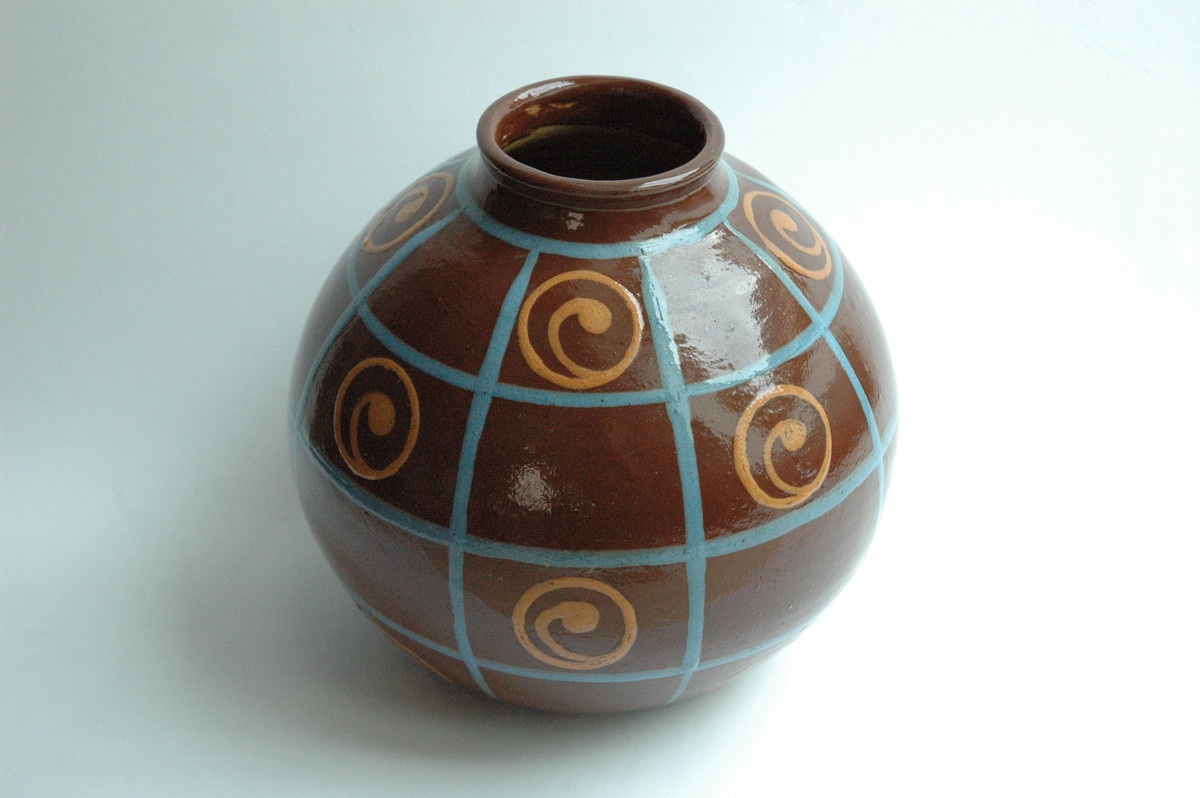 Pottery Craft Usa Vase Of Art Deco Pottery Vase by Jean Garillon soufflenheim Collectors Weekly with L7ruefxnbzfvpc8qbifqmq
