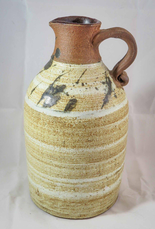 "Pottery Craft Usa Vase Of Louis Mideke Studio Pottery Jug Etsy In DŸ""Žzoom"