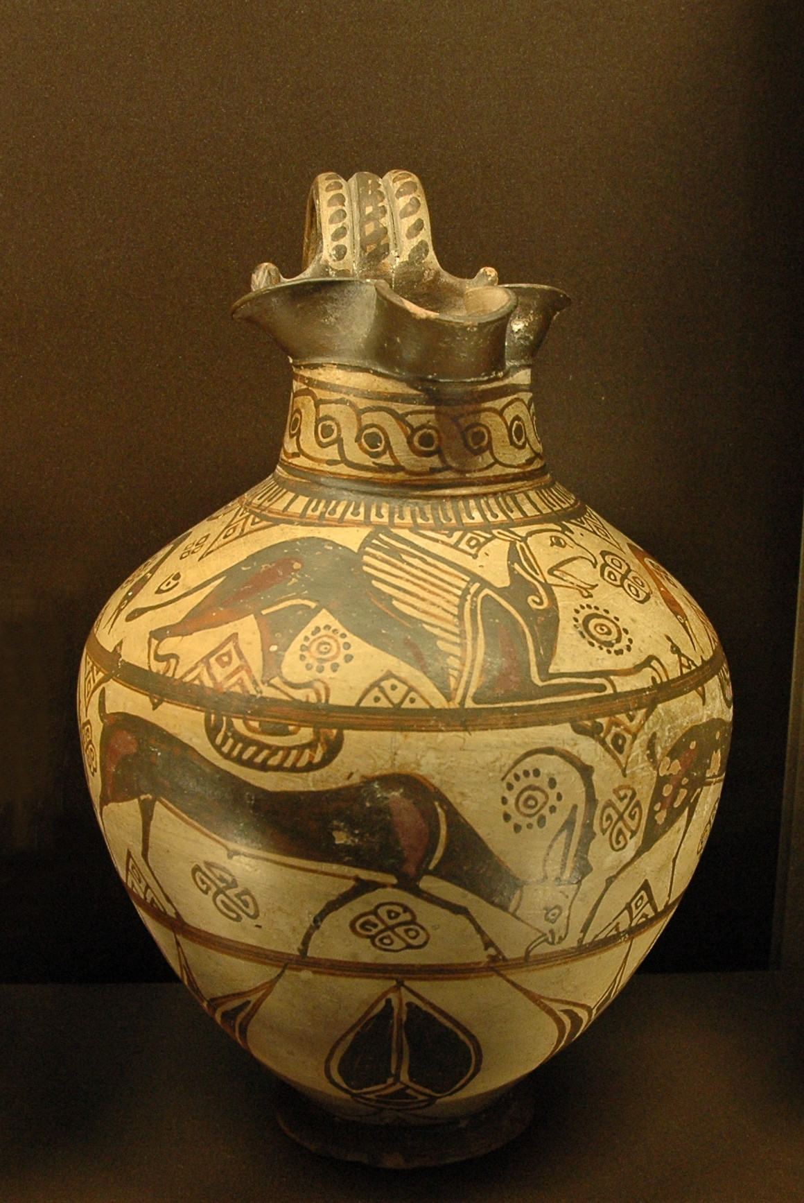 pottery vase shapes of oenochoe wikipedia within oinoche camiros fantastic louvre a318