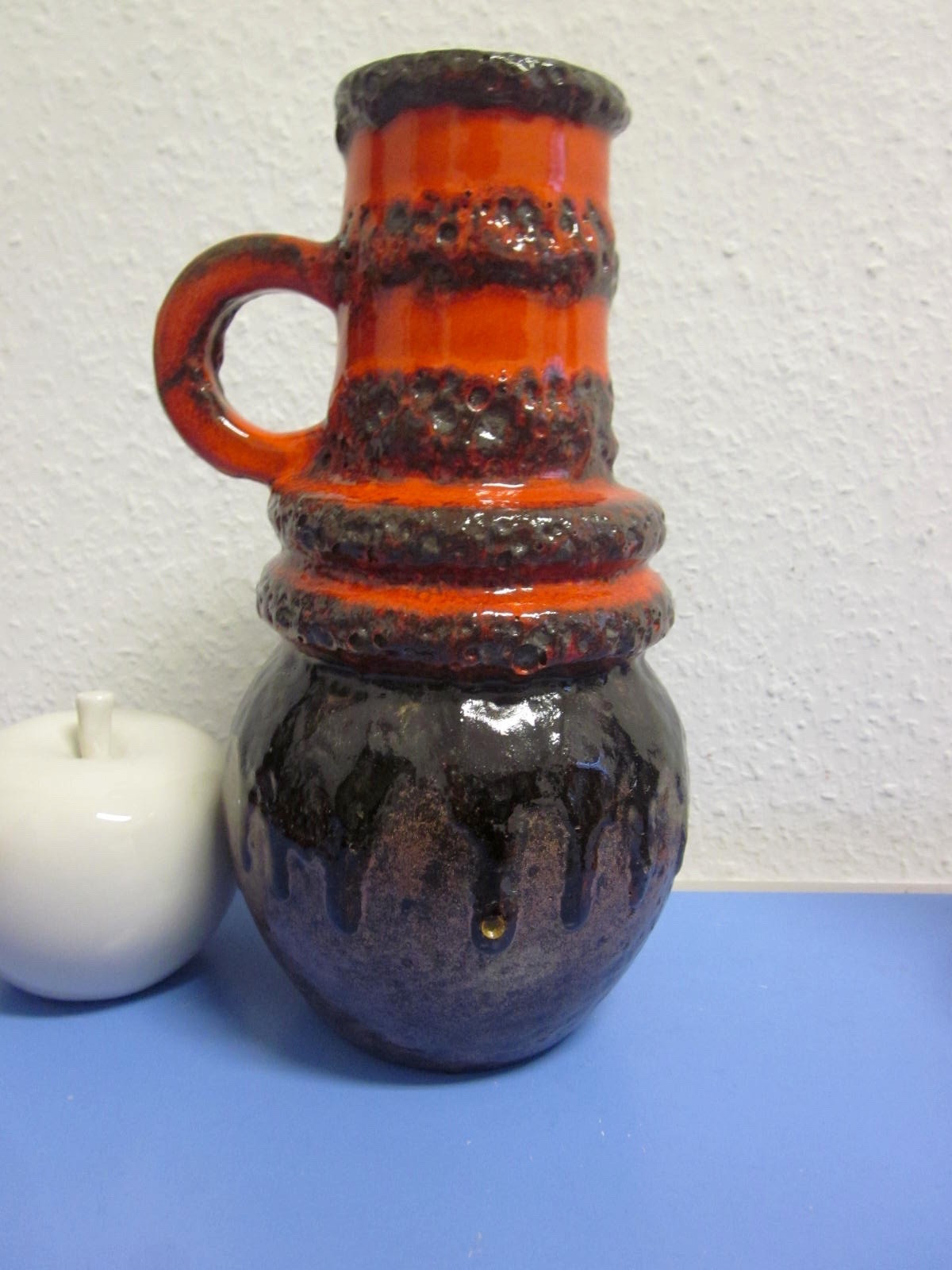 pottery vase shapes of scheurich vienna tall 70s vase with lava glaze wgp pottery english throughout img 2512