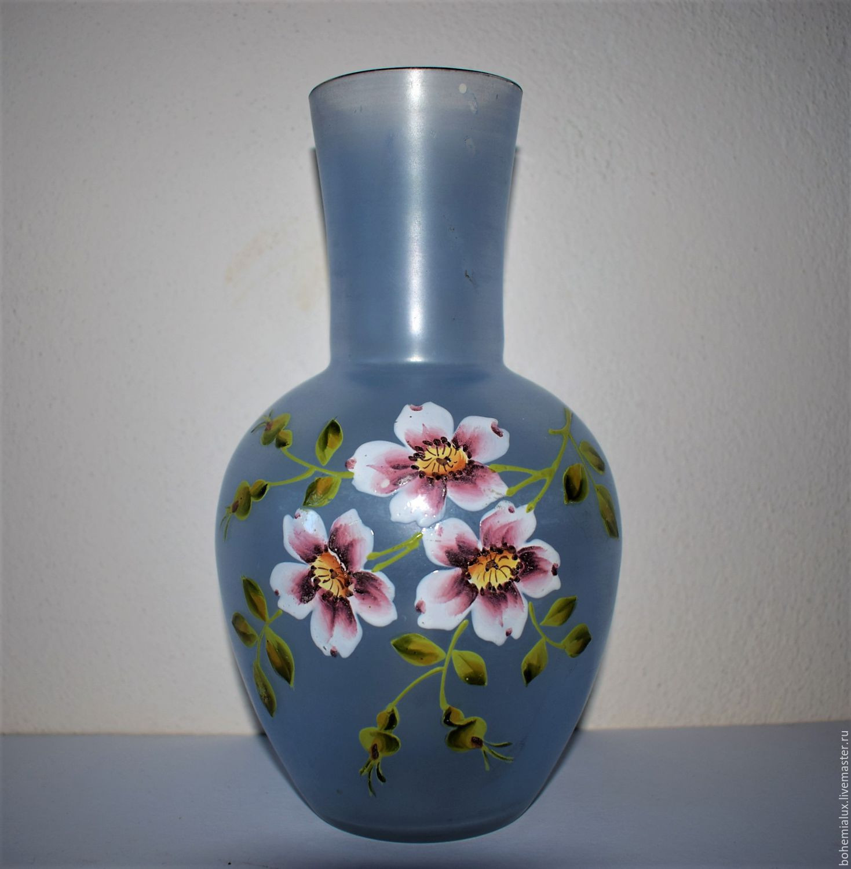 pottery vases handmade of vintage vase hand painted 19 century bohemia haida shop online on intended for livemaster handmade buy vintage vase hand painted 19 century bohemia