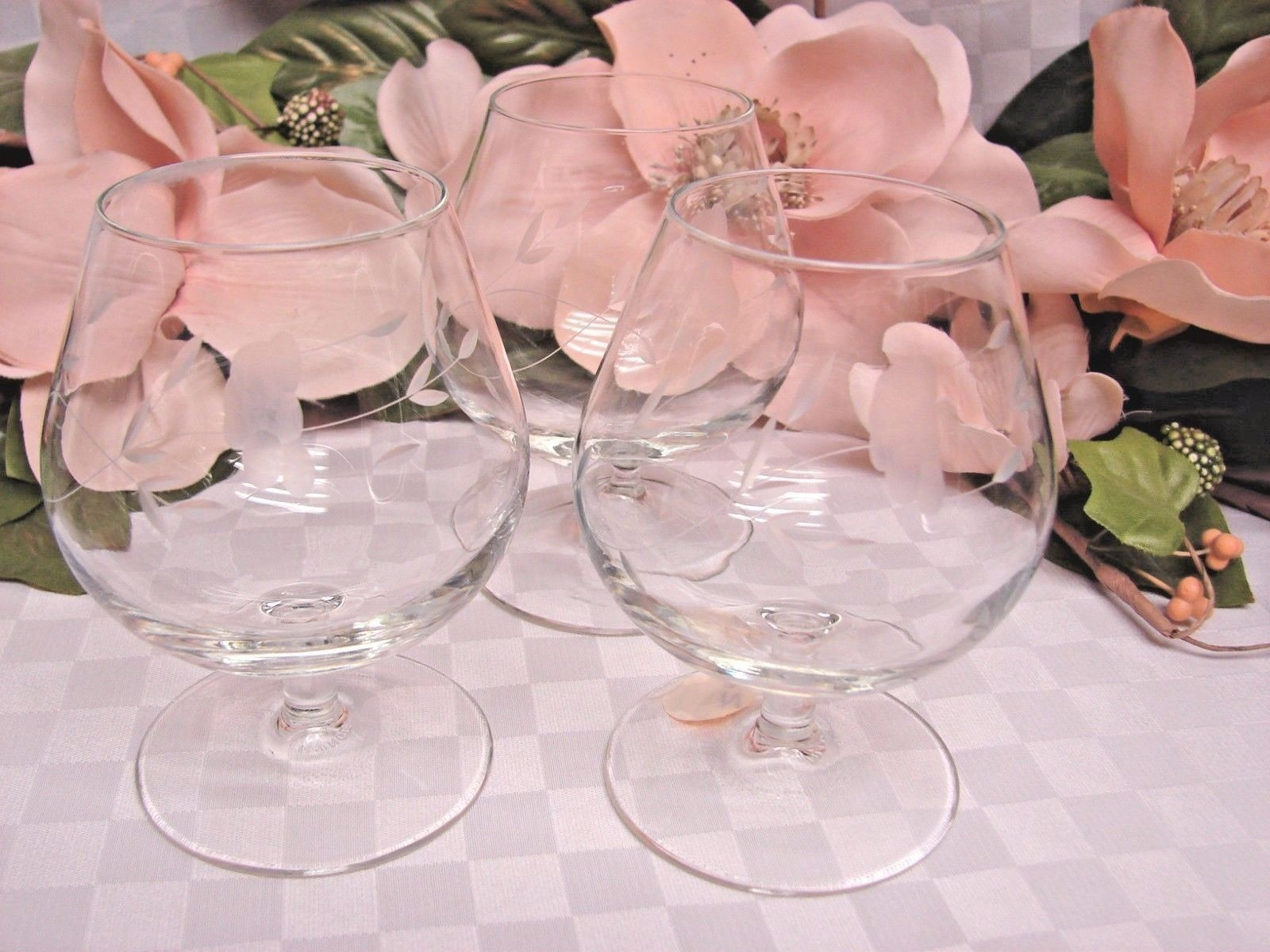Princess House Flower Vase Of Princess House Heritage Crystal Floral Design Clear 3 Footed Brandy In Princess House Heritage Crystal Floral Design Clear 3 Footed Brandy Glass Royal Teacup Body Porcelian Replacement Doulton Dinnerware Cupcake