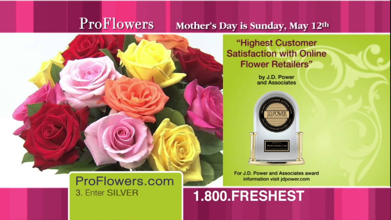 Proflowers 19.99 Free Vase Of Proflowers Tv Commercial with Promo Code Youtube Intended for Maxresdefault