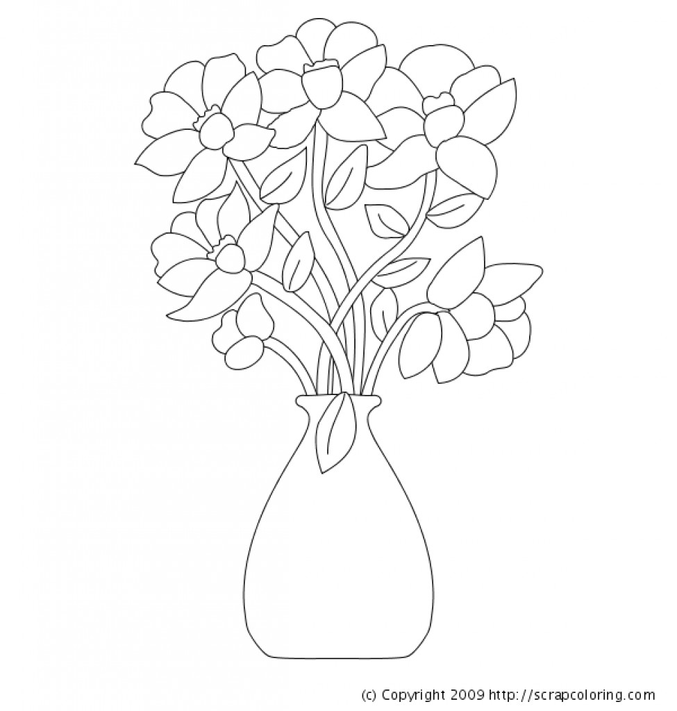 proflowers free vase of coloring pages of flowers in a vase 2102709 regarding beauteous free coloring pages flower vase printable in snazzy
