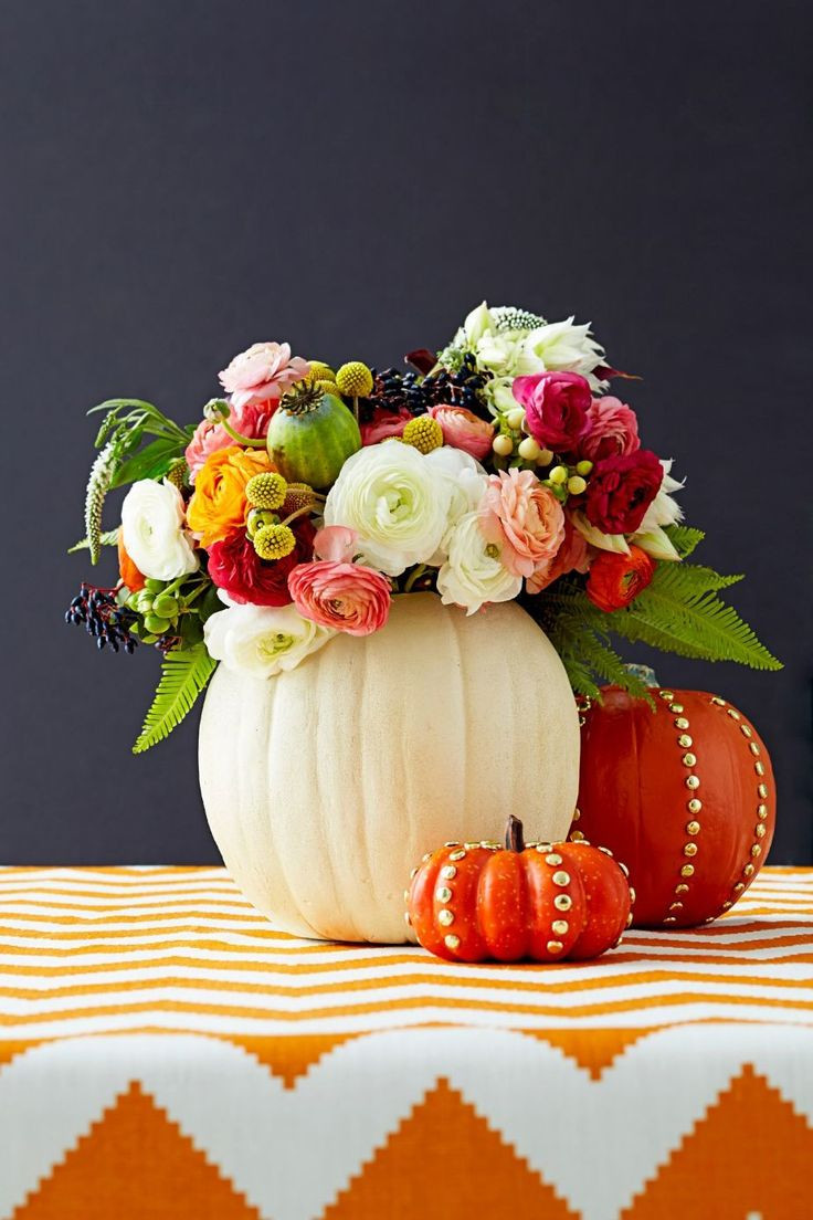 pumpkin vases centerpiece of 16 best fun ideas images on pinterest decorating ideas floral for 30 fall flower arrangements and centerpieces
