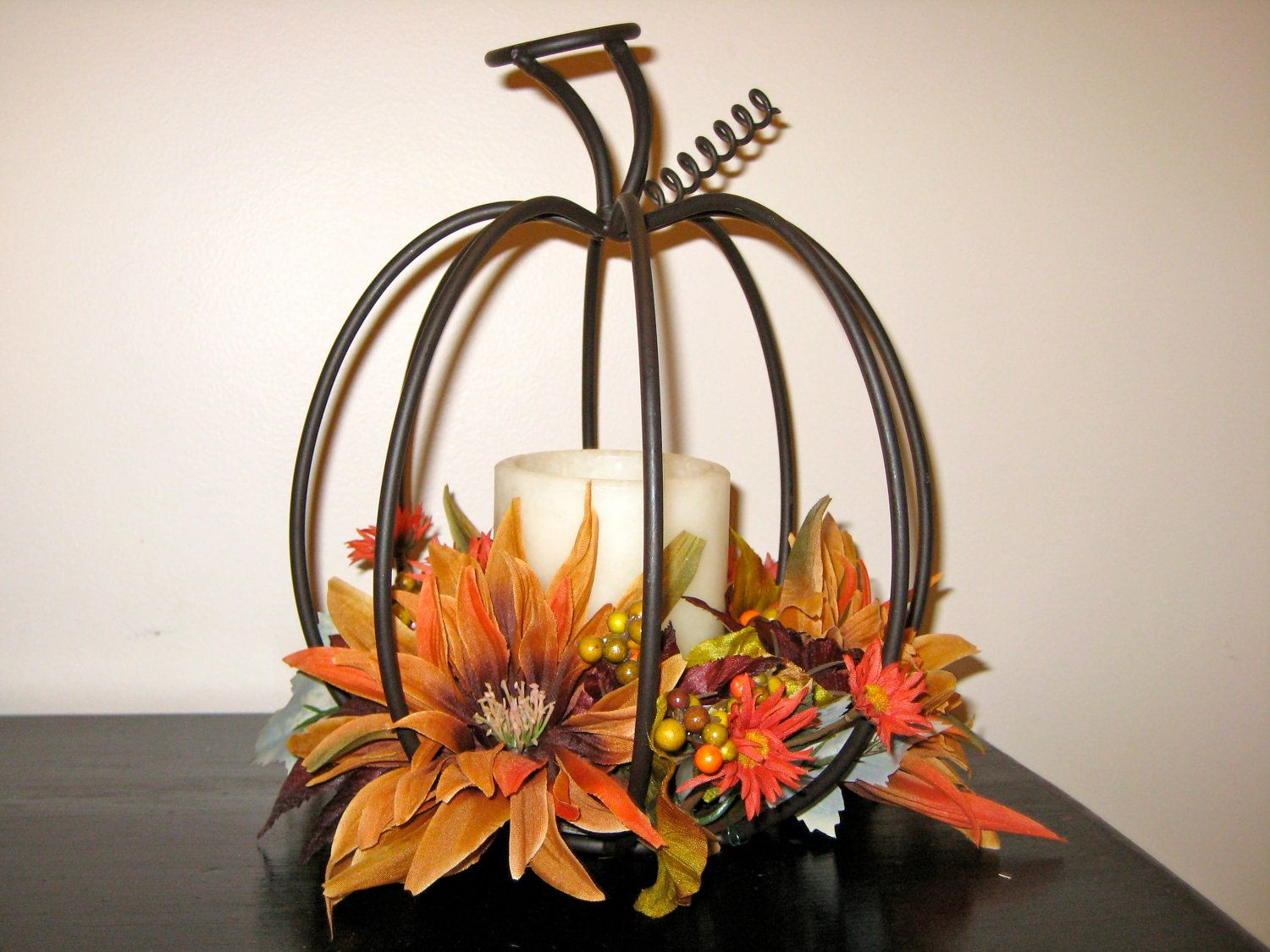 pumpkin vases centerpiece of autumn candle centerpieces item details reviews 4 shipping in autumn candle centerpieces item details reviews 4 shipping policies