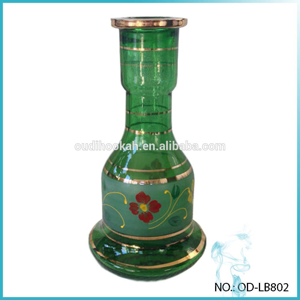 purple and green glass vase of wholesale hookah bases hookah vases hand painted foral gold plating inside wholesale hookah bases hookah vases hand painted foral gold plating glass base