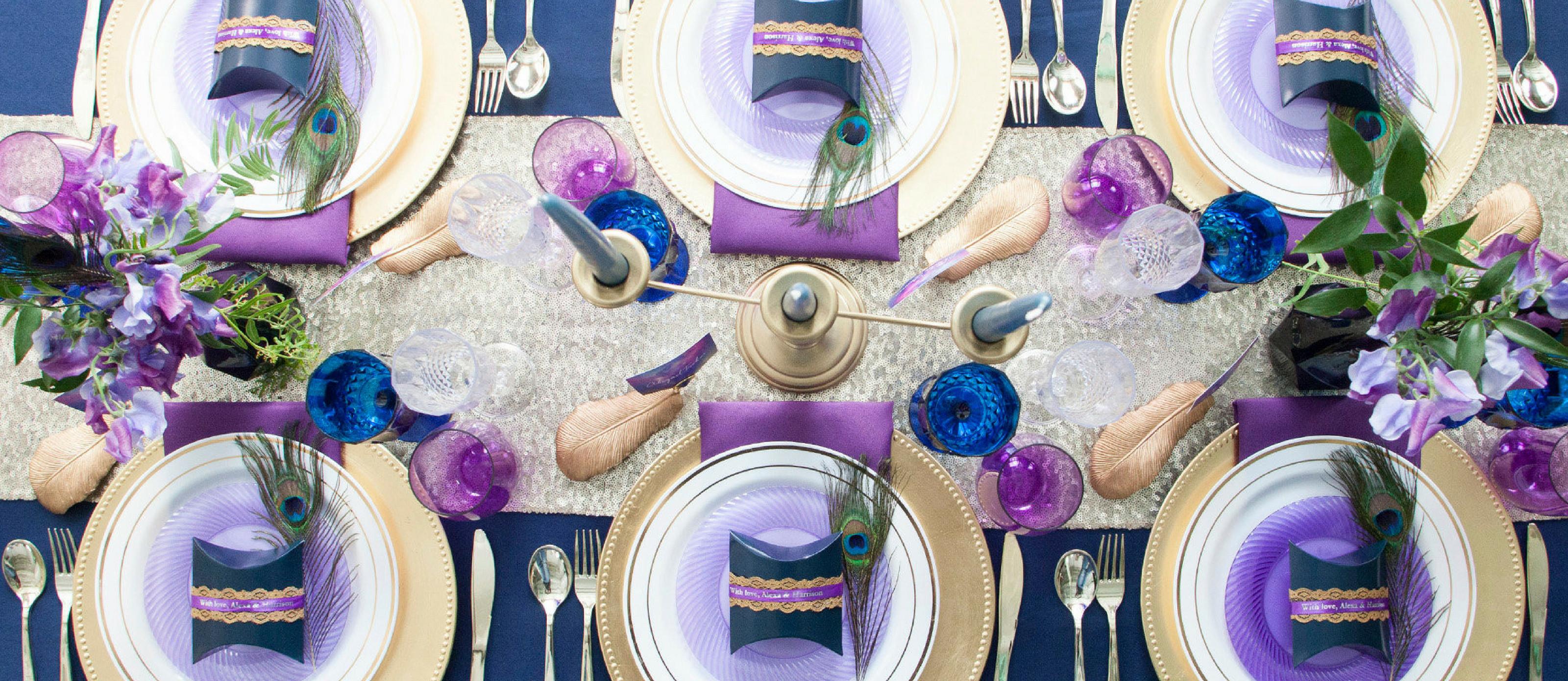 purple cut glass vase of elegant navy and purple wedding table ideas with elegant navy and purple wedding table ideas hero 0