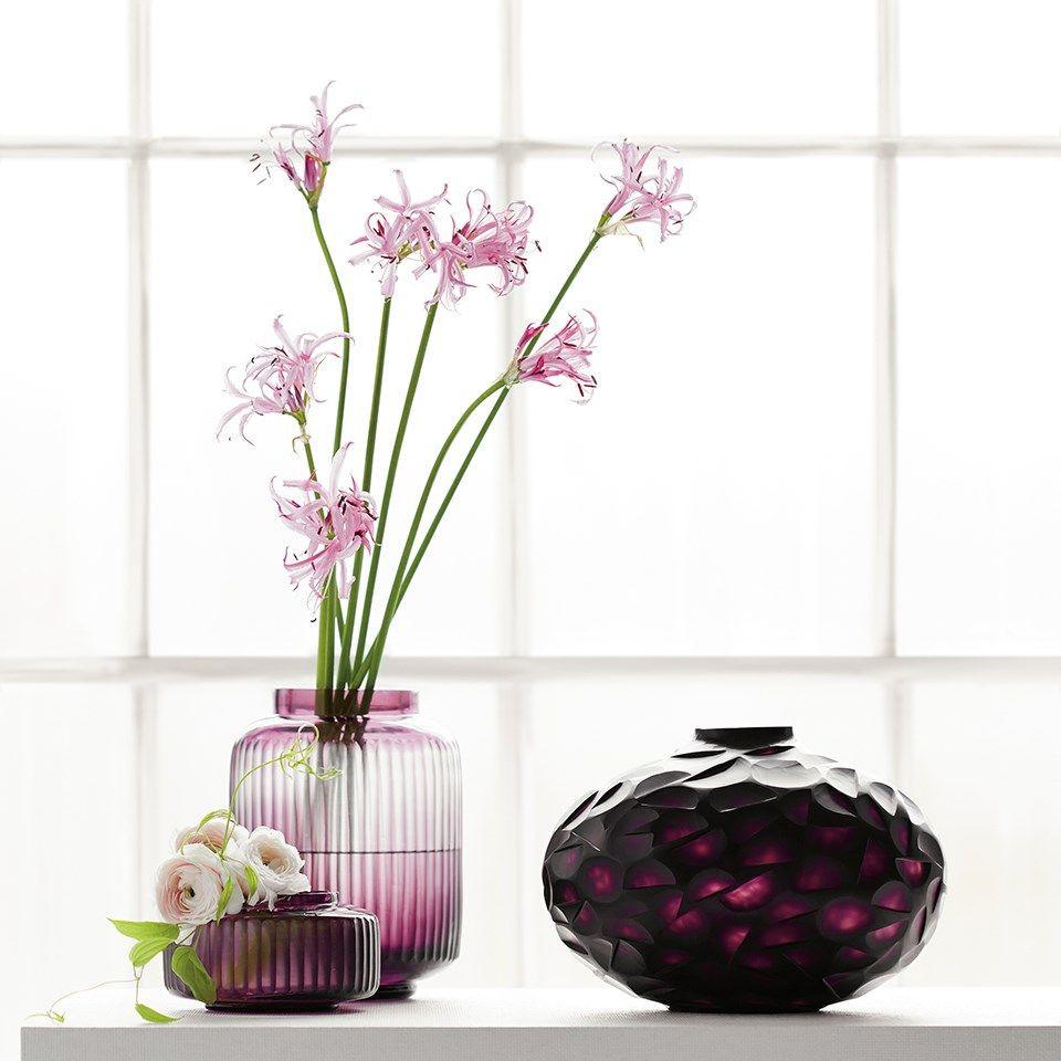 purple cut glass vase of two layered hand blown hand chiseled glass miro vase amethyst pertaining to two layered hand blown hand chiseled glass miro vase amethyst bungalow 5