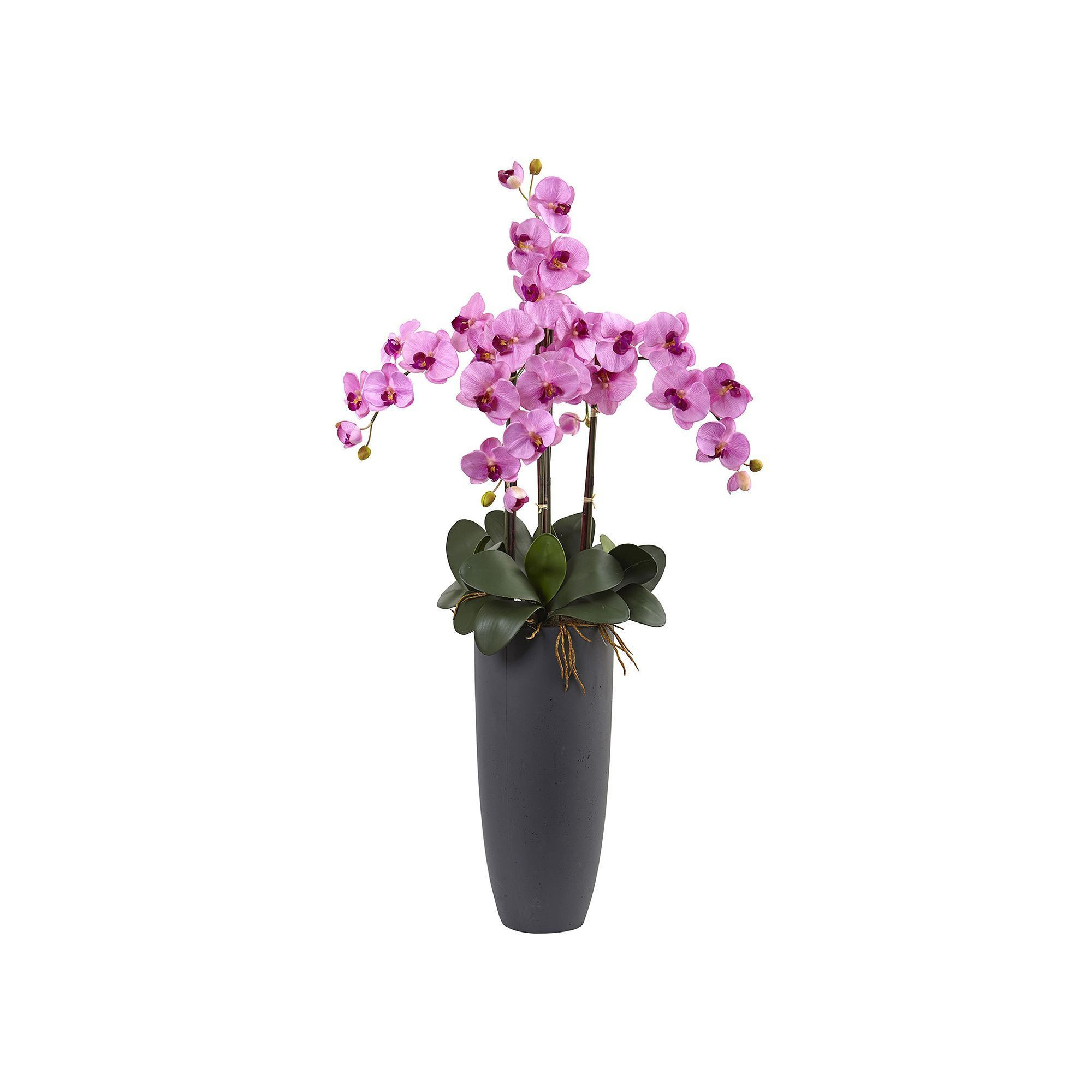 purple orchid vase of nearly natural phalaenopsis orchid artificial floral arrangement for nearly natural phalaenopsis orchid artificial floral arrangement light pink