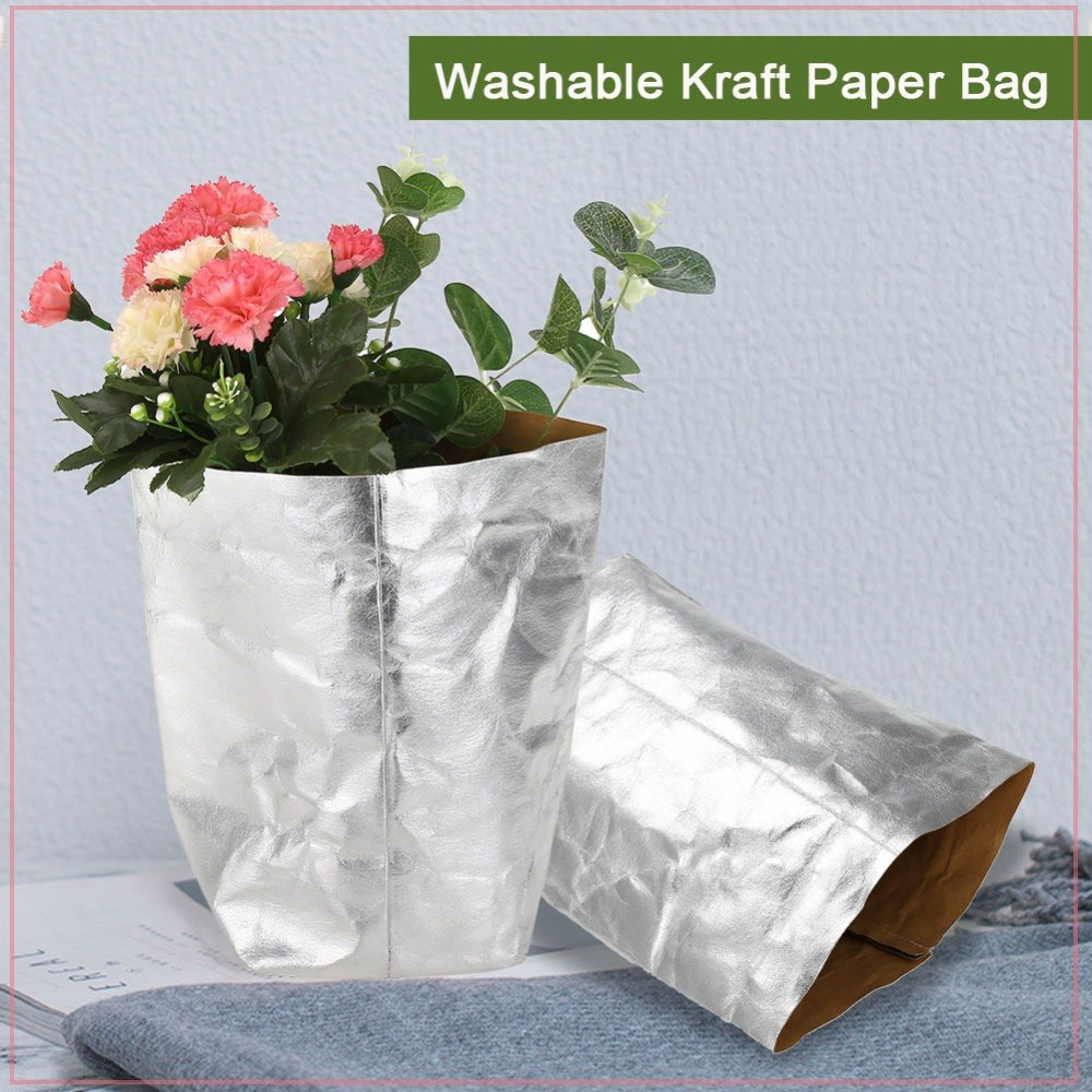 Pvc Pipe Vase Of Aliexpress Com Buy Washable Kraft Paper Bag Plant Flowers Pots with Aliexpress Com Buy Washable Kraft Paper Bag Plant Flowers Pots Home Storage Baskets organizer Bin Park Garden Kraft Paper Flower Pot From Reliable Grow