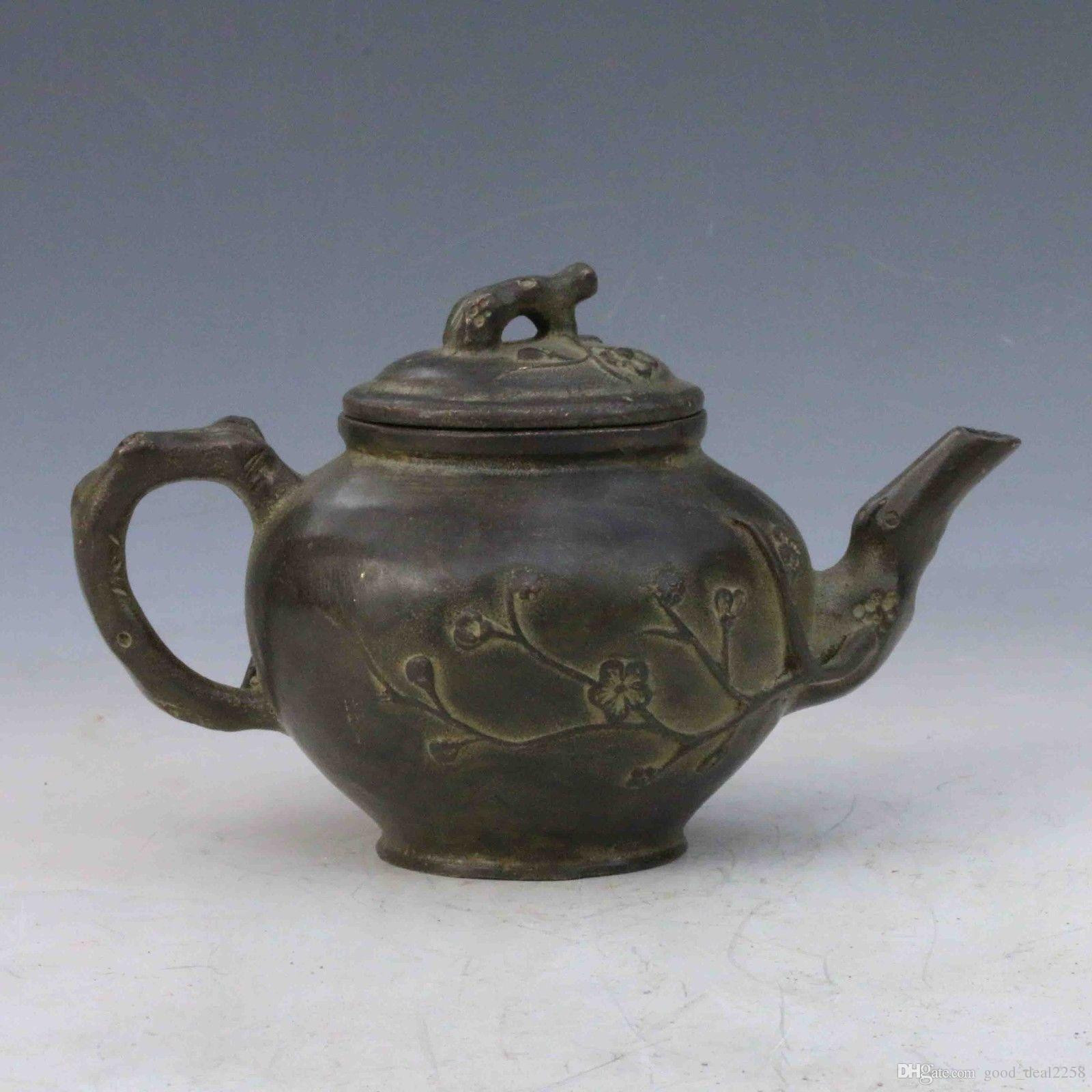 15 Wonderful Qianlong Vase 2021 free download qianlong vase of 2018 chinese collection bronze handwork carved plum teapot lid w inside 2018 chinese collection bronze handwork carved plum teapot lid w qianlong mark from good deal2258 33