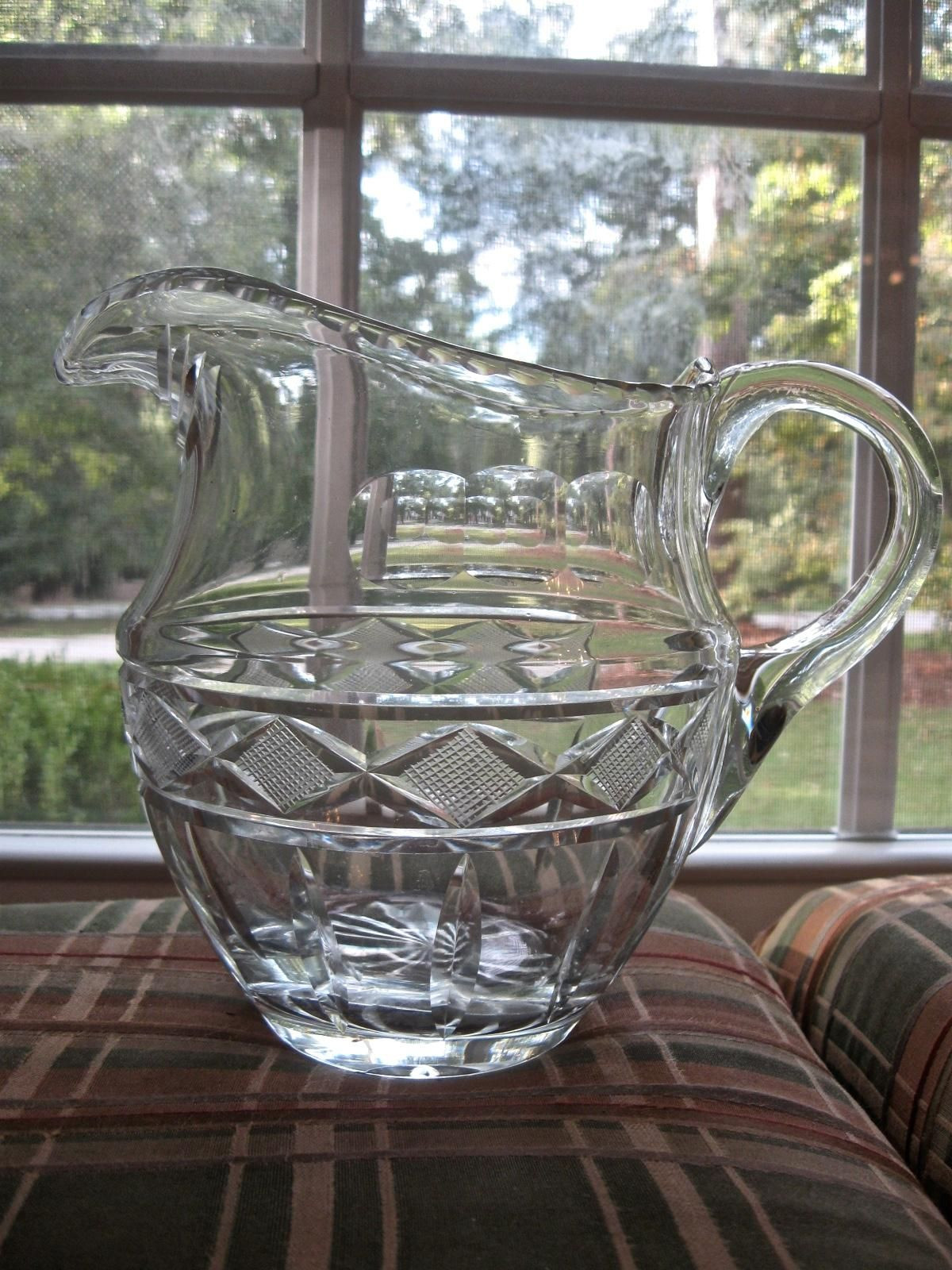 rainbow glass vase of 1954 steuben glass spiral bowl don pollard design regarding early 1800s cut glass water pitcher