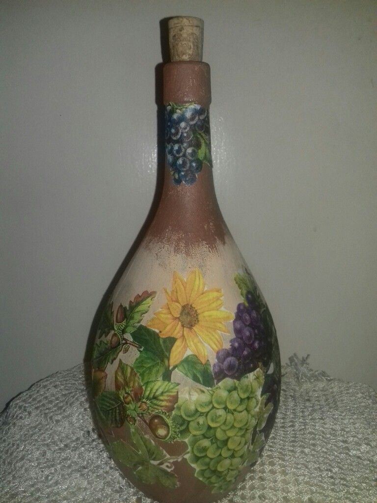 22 Wonderful Recycled Glass Bottle Vase