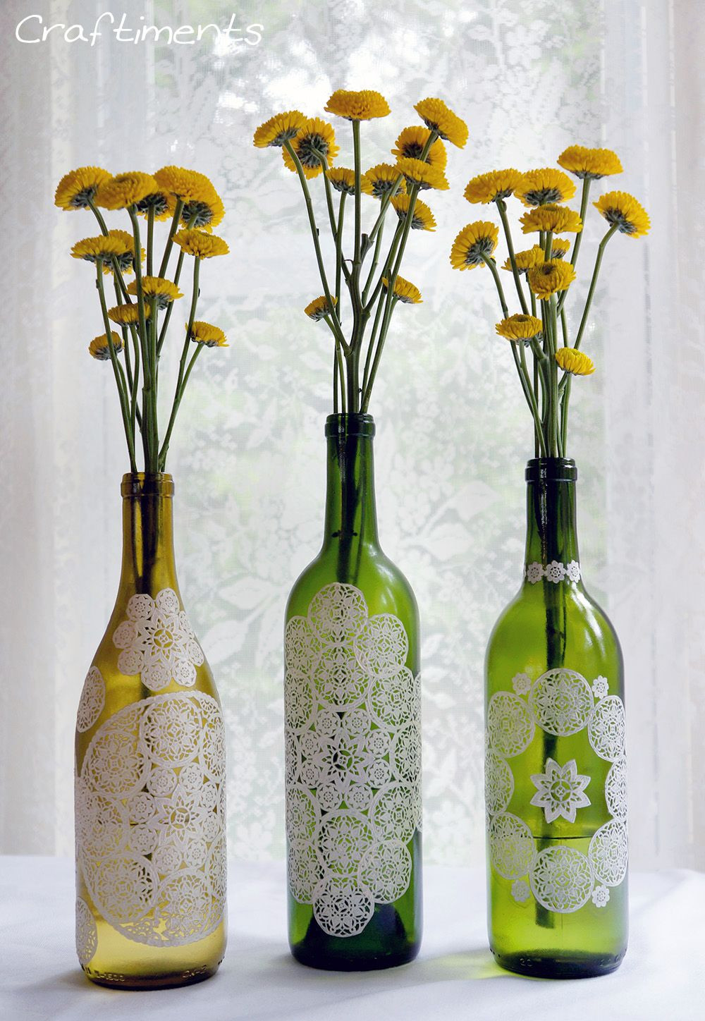 recycled glass bottle vase of inspiring wine bottle crafts shared by creative diy enthusiasts in view in gallery
