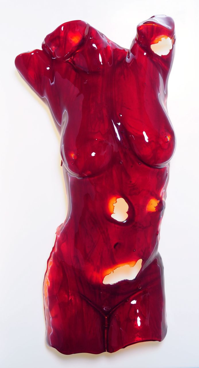 red and white glass vase of red glass sculpture life size female torso 600mm wide x 900mm high regarding red glass sculpture life size female torso 600mm wide x 900mm high x 200mm deep