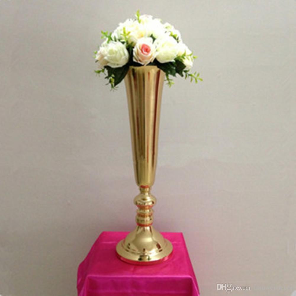 red flower vases for sale of silver gold plated metal table vase wedding centerpiece event road within silver gold plated metal table vase wedding centerpiece event road lead flower rack home decoration