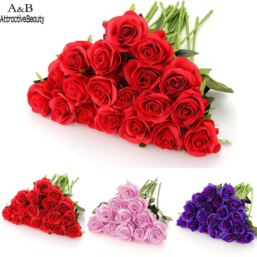 red rose vase of furniture red rose artificial flower beautiful aliexpress buy homdox for furniture red rose artificial flower beautiful aliexpress buy homdox 20pcs artificial red rose flowers real