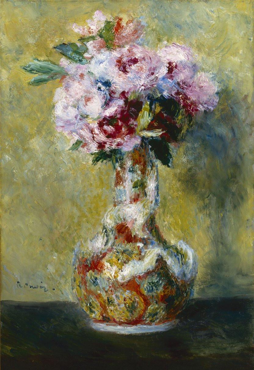 renoir vase of flowers of d¦d²dµn'n‹ d¶d¸d²d¾dd¸nnŒ d—ddd¸nd¸ d² n€nƒd±n€d¸dodµ d¦d inside pierre auguste renoir