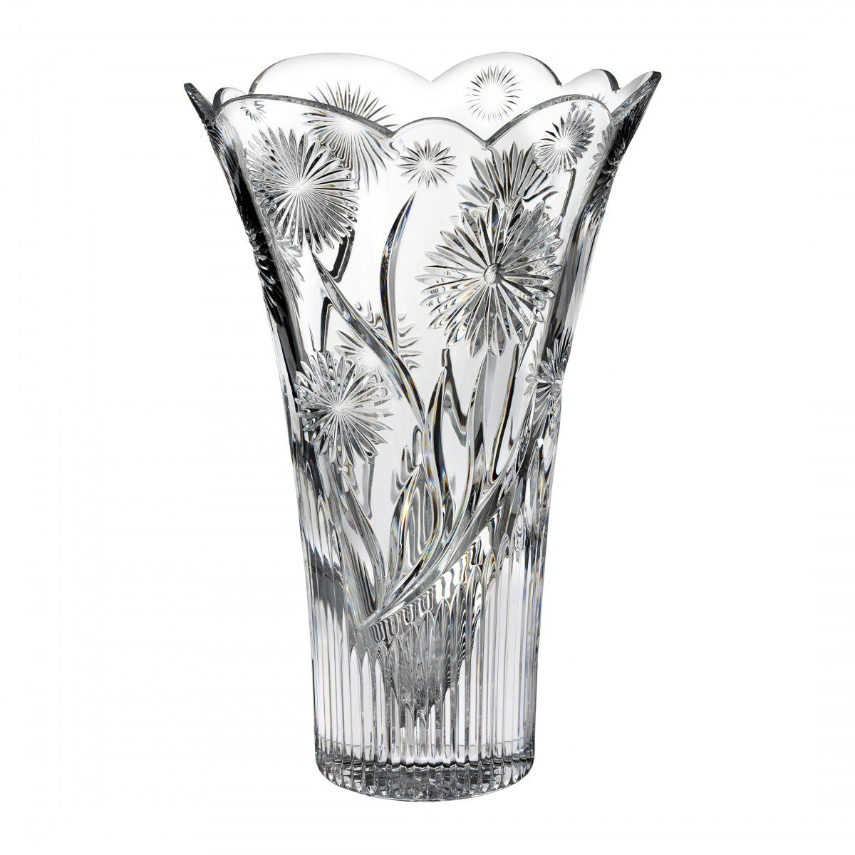 retired waterford crystal vase patterns of billy briggs daisy 12in vase discontinued house of waterford pertaining to billy briggs daisy 12in vase discontinued