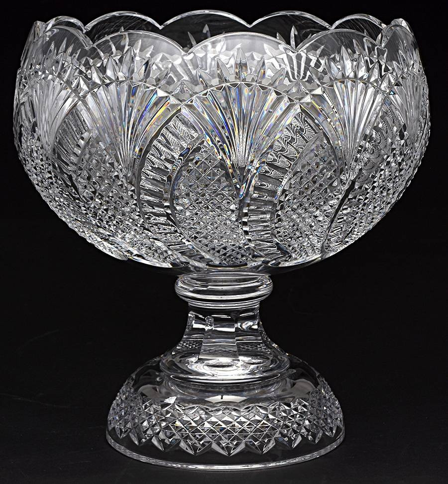 retired waterford crystal vase patterns of waterford seahorse at replacements ltd within waterford seahorse punch bowl