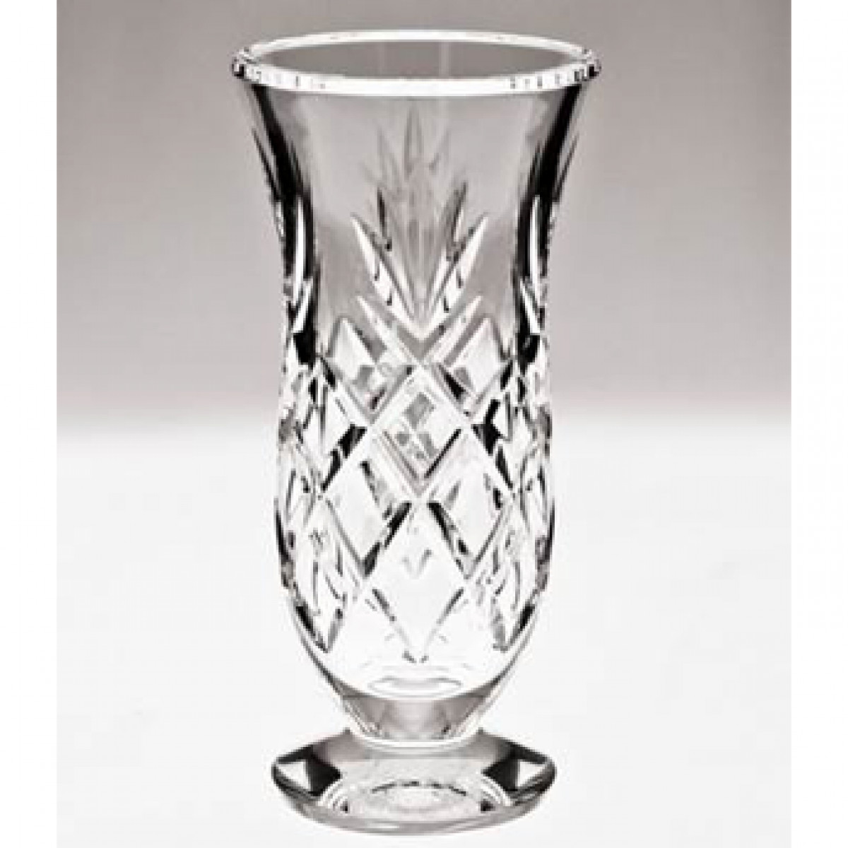 Retired Waterford Crystal Vase Patterns Of Woodmont 8in Vase Discontinued Waterford Us with Woodmont 8in Vase Discontinued