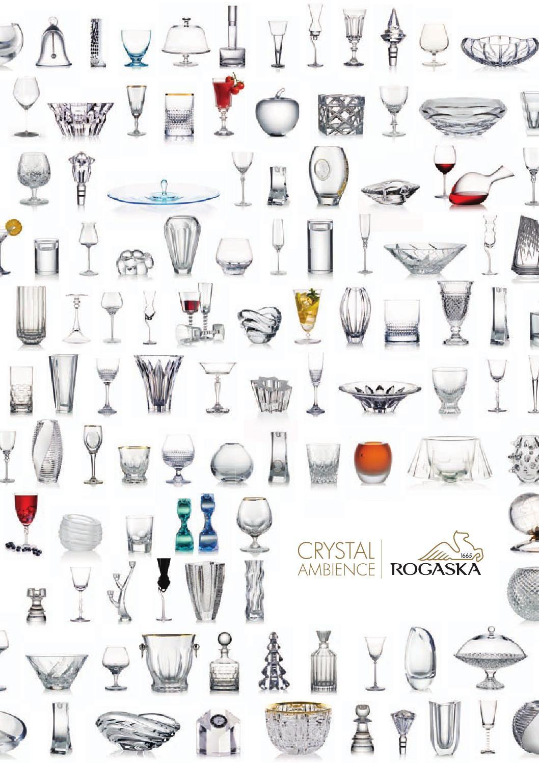 Rogaska Crystal Vase Patterns Of Rogaaka Crystal 2015 by Gerri Pa¤rson issuu Regarding Page 1