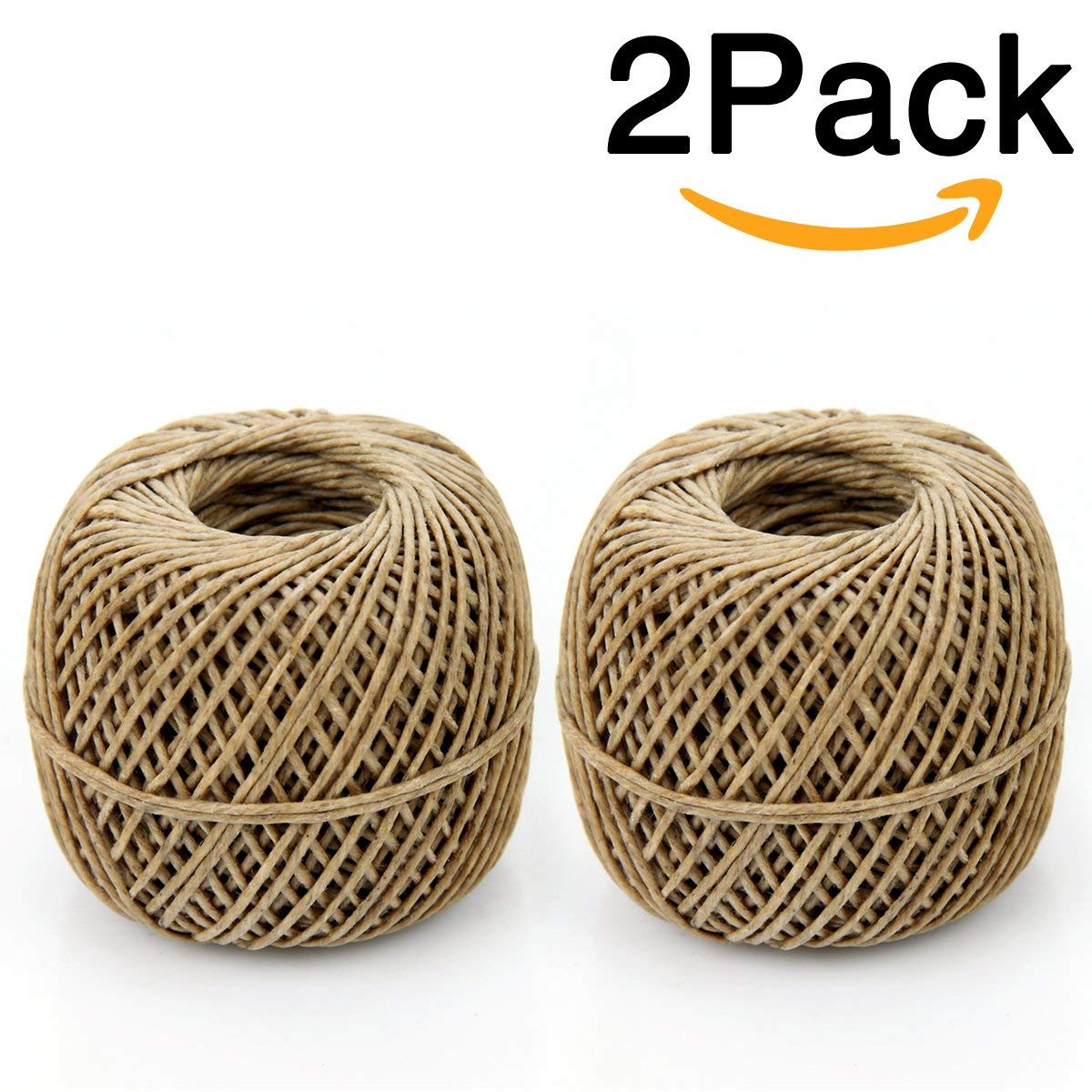 Rope Wrapped Vase Of Amazon Com Auspa 2 Pack 100 organic Hemp Wick 200 Ft Spool Well Intended for Amazon Com Auspa 2 Pack 100 organic Hemp Wick 200 Ft Spool Well Coated with Natural Beeswax Standard Size Home Kitchen
