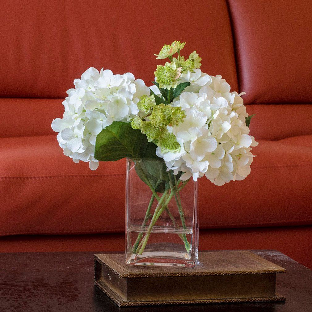 25 Best Rose Arrangements In Square Vases 2021 free download rose arrangements in square vases of white hydrangea arrangement silk flowers greenery spray artificial intended for silk white hydrangea and greenery arrangement