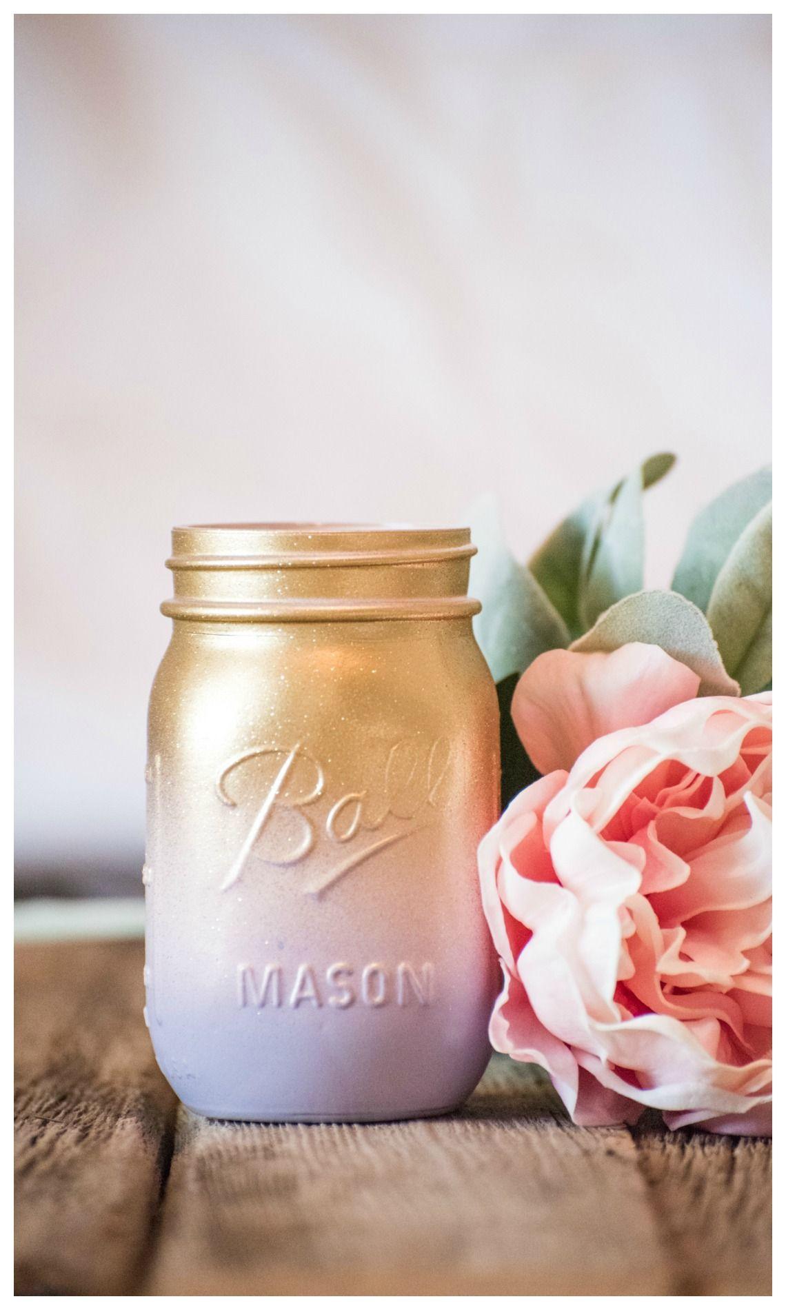 rose gold glitter vase of easter mason jar centerpiece vase flowers purple peach gold glitter within easter mason jar centerpiece vase flowers purple peach gold glitter