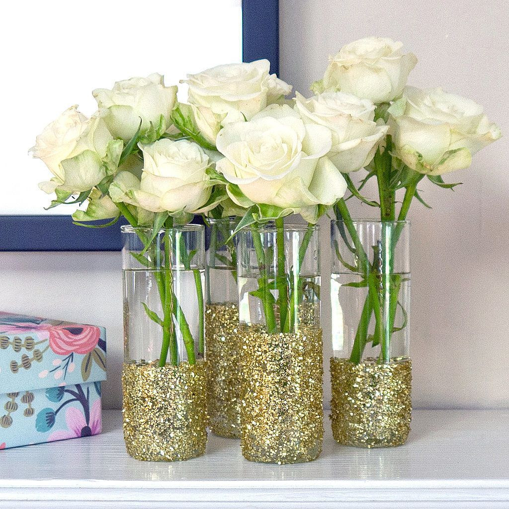rose gold glitter vase of get your glitter on with this shot glass diy wedding pinterest regarding get your glitter on with this shot glass diy if youre looking