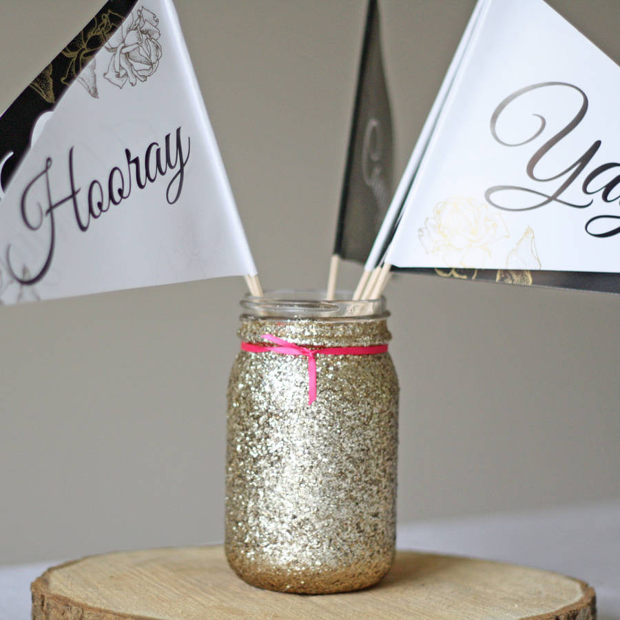 rose gold glitter vase of gold glitter jar vase by the wedding of my dreams inside gold glitter jar vase