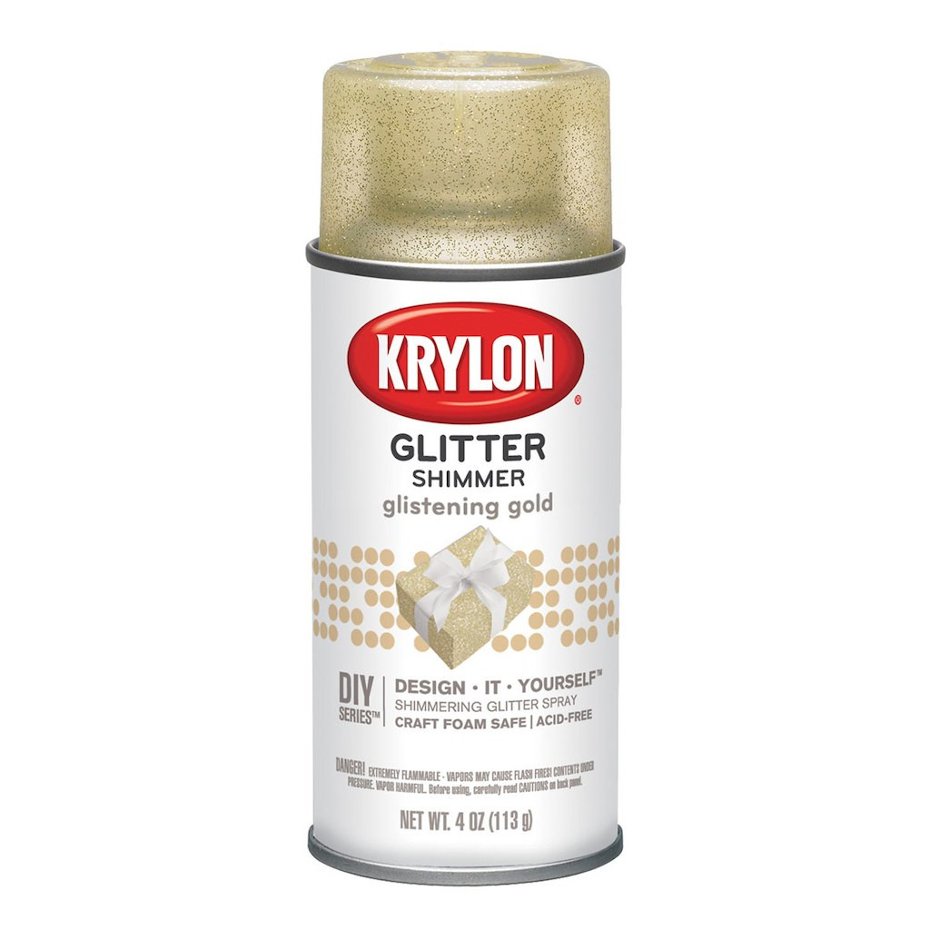 rose gold glitter vase of krylona glitter shimmer spray inside 10001495 n