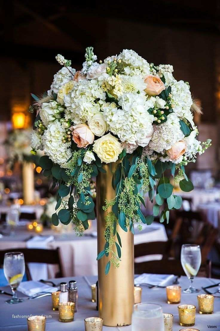 20 attractive Rose Gold Vase Centerpiece