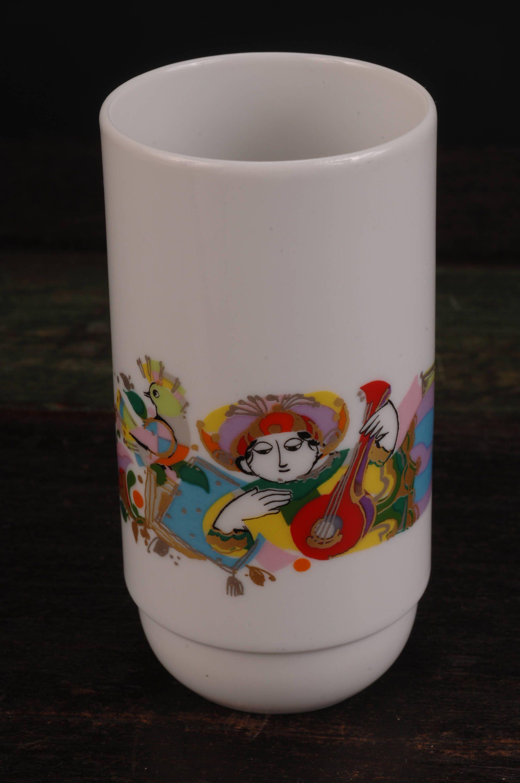rosenthal crystal vase germany of rosenthal bjorn wiinblad design cup beaker vase in original box inside rosenthal bjorn wiinblad design cup beaker vase in original box germany by