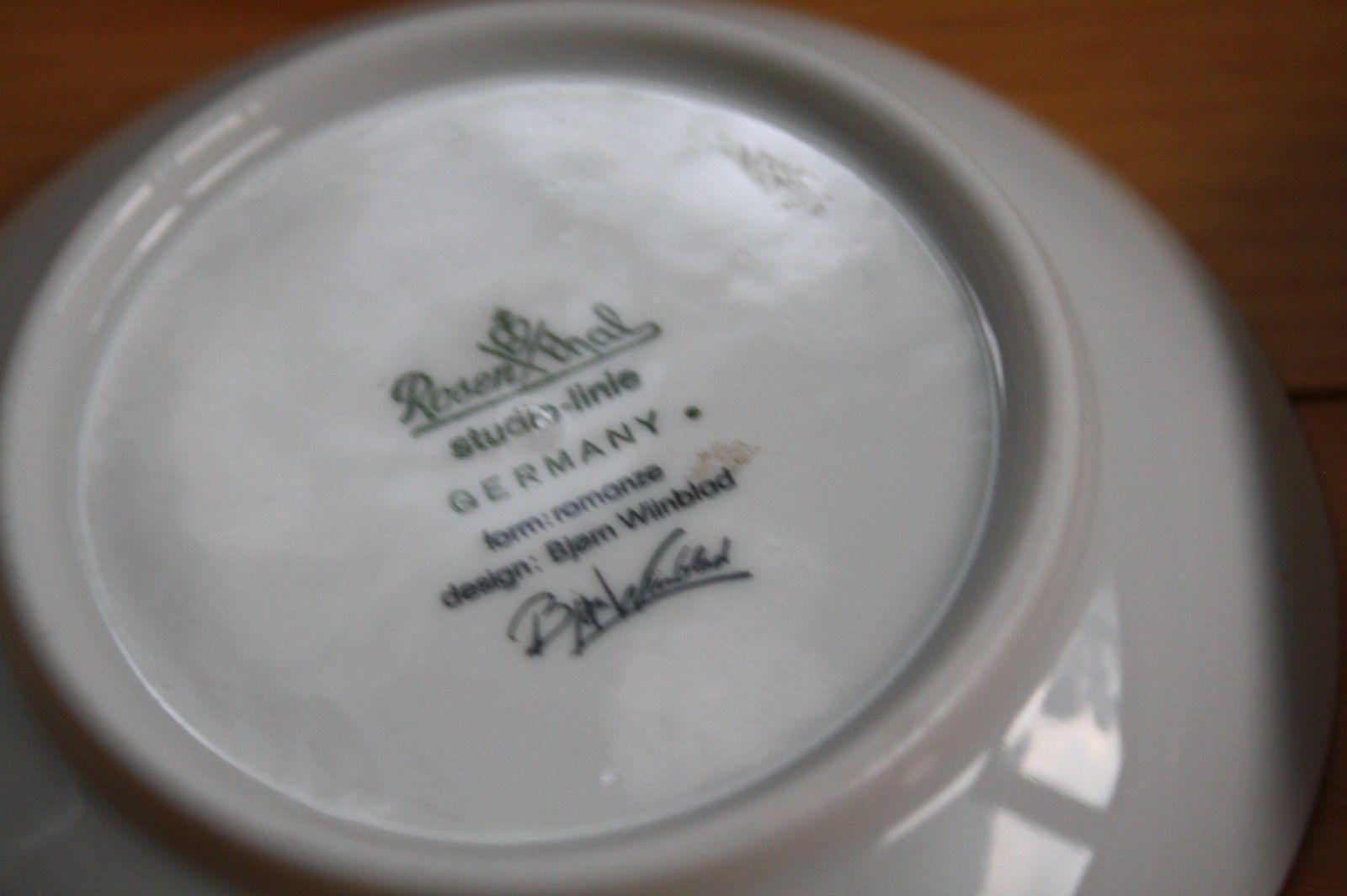 rosenthal vase ebay of rosenthal romanze bjorn wiinblad 3 3 4 pin dish plates white gold with regard to next
