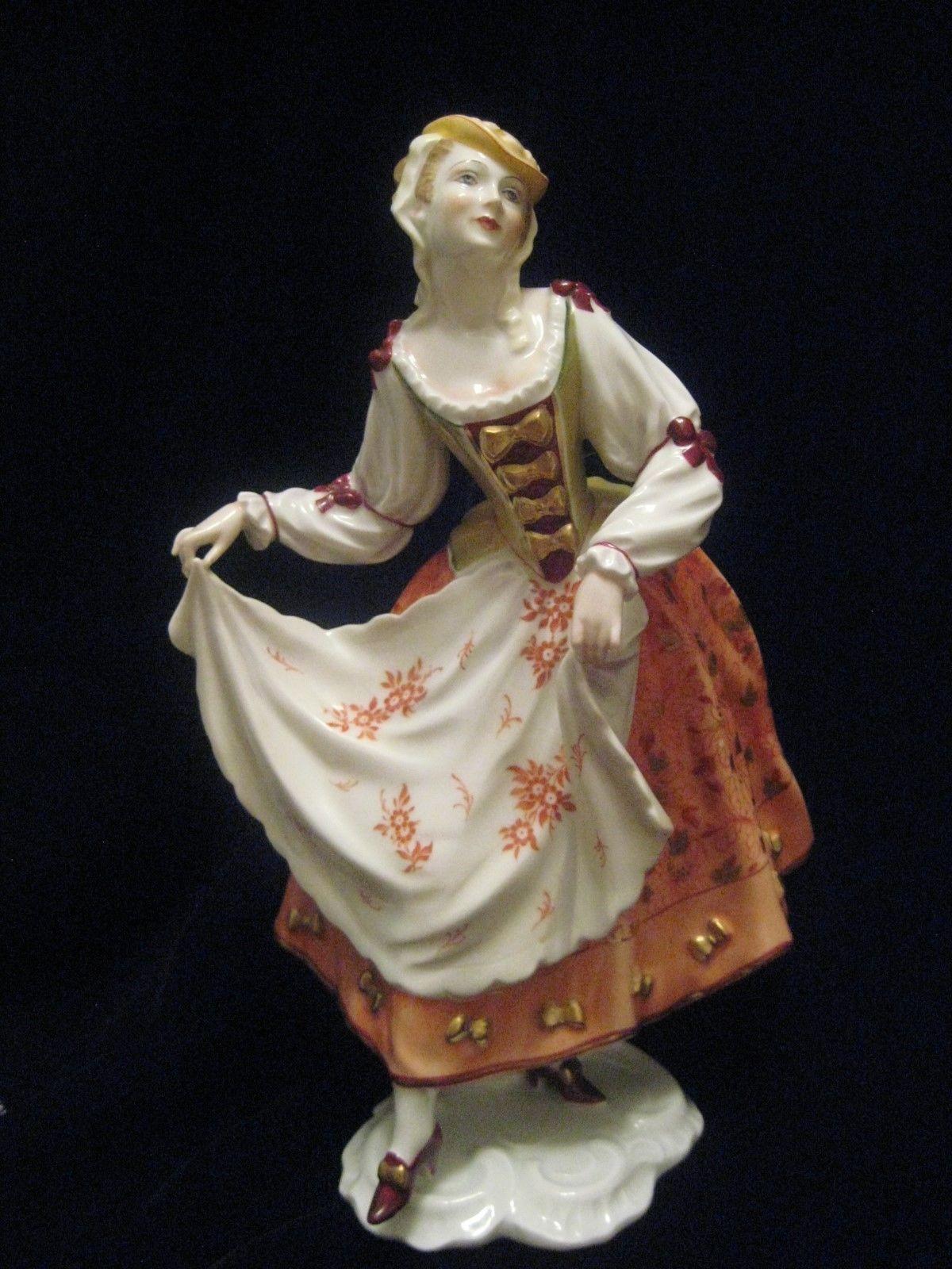 rosenthal vase ebay of vintage rosenthal porcelain woman dancing figurine gustav opel for dancing lady made in germany no chips cracks repairs or ebay