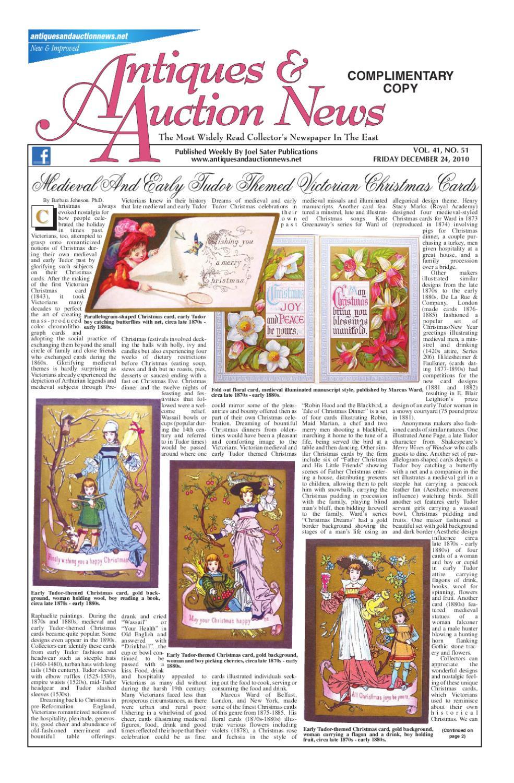 roseville magnolia vase of antiques auction news 122410 by antiques auction news issuu in page 1
