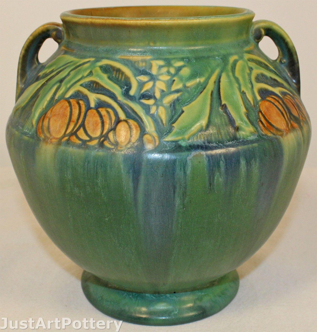 roseville pottery dogwood vase of rookwood pottery 1895 covered box shape 692 baker from j in roseville pottery baneda green vase 591 6 from just art pottery